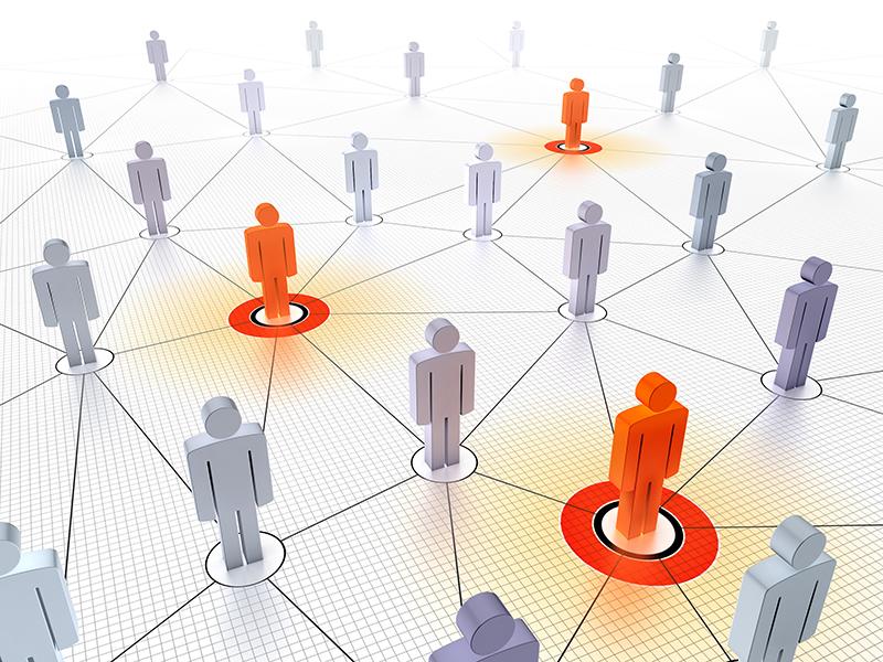 Förderung sozialer Interaktion unter Konferenz-Teilnehmern